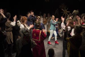Розколяда театрального центру Пасіка відбулася в центрі театрального мистецтва ім. Леся Курбаса