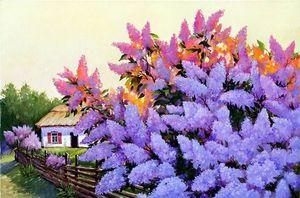 Неймовірні полотна Сергія Кольби переносять глядачів у світ краси