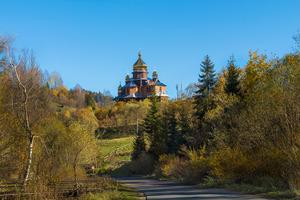 Дерев'яні церкви Орявчика