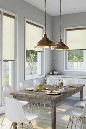 Рулонні штори як елемент дизайну квартири