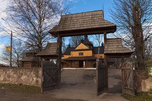 КОЛОМИЯ. Благовіщенська церква і дзвіниця, 1587, XVII століття.