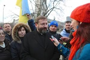 Інтерв'ю з Святославом Шевчуком у Вашингтоні, 5 лютого
