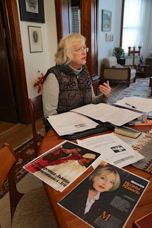 Ірена Коваль, письменниця, драматург, котра писала про Льва Толстого в нестандартному сенсі