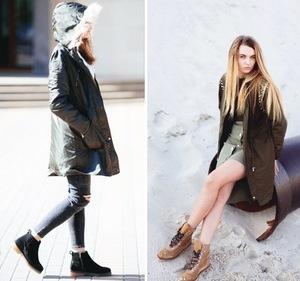 Як стильно одягатися в холодну пору року
