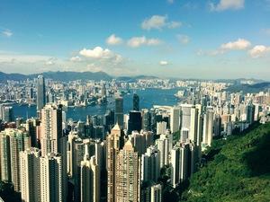 Потягом у Гонконг та міста навколо