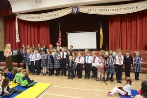 Зустріч гостей з України у школі св. Миколая