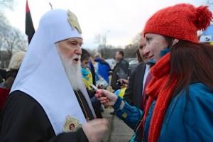 Ексклюзивне інтерв'ю з Патріархом Філаретом
