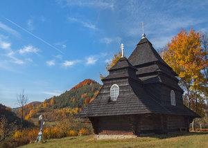 Дерев'яні церкви України. Закарпаття.