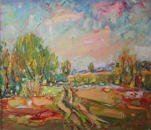 В обіймах весни: виставка художника Володимира Гарбуза