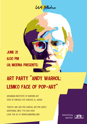 Art Party Andy Warhol: Lemko face of Pop-Art