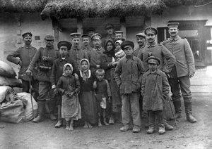 Село Сушибаба на фото воєнного 1916 року