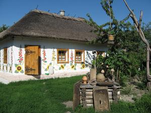 Українська хата: Де мир, там і лад, там є в хаті благодать