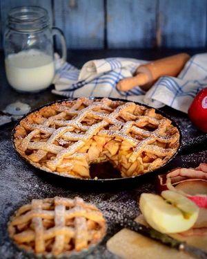 Готуємо пісний яблучний пиріг