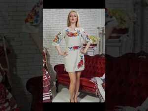 Відео презентація: Колекція чарівних суконь з вишивкою