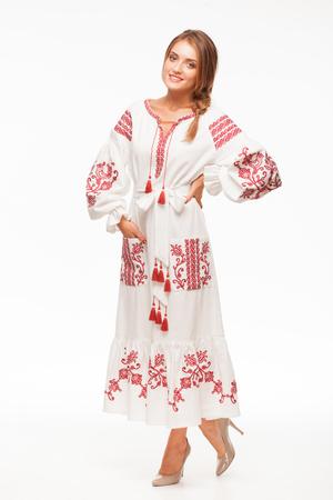 Вишита сукня Вишневий сад