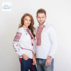 Чоловічі та жіночі вишиті сорочки
