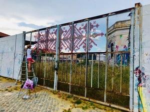 Як українка втілює українську традицію в Street art за кордоном