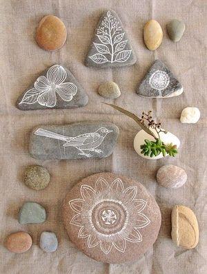 Арт у різних проявах: малюнки на камінні