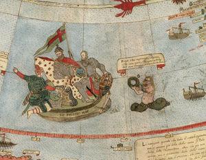 В мережі опублікували фото найстарішої карти Землі