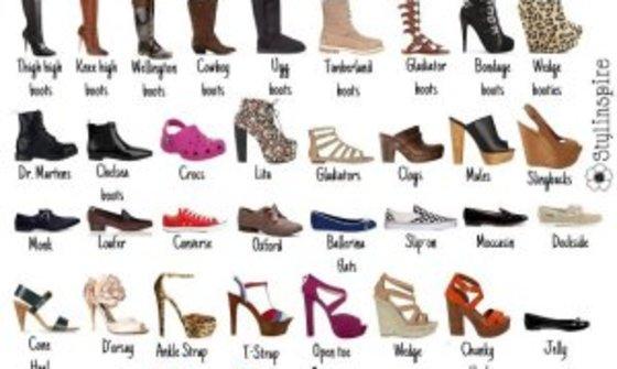 Види жіночого взуття 77284a769f9e5