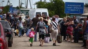 Новости из зоны. Беженцы и возвращенцы
