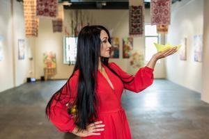 В київському арт-просторі Дерево життя відкрилася виставка української художниці Мар'яни Сілагіної