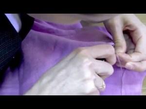 Фрагменти створення дитячої лляної сукні