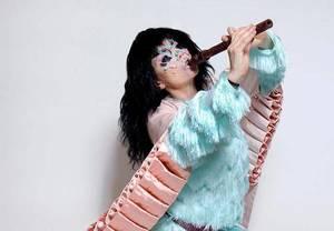 Бйорк похизувалась вбранням від українського дизайнера