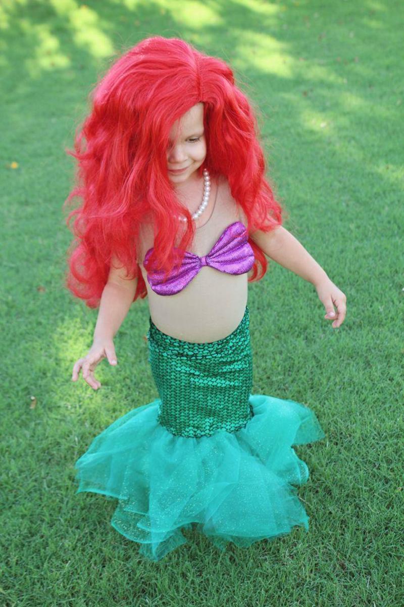little mermaid costume - 600×900