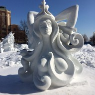 International Snow Sculpting Challenge, Чикаго, США, фото