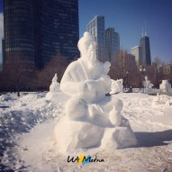 International Snow Sculpting Challenge, фото