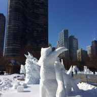 International Snow Sculpting Challenge, Чикаго