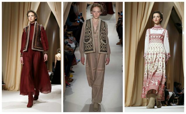 Модний дім Valentino ще до виходу в світ вищезгаданої колекції