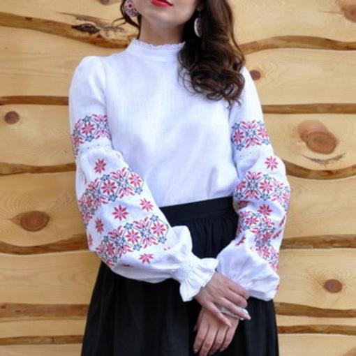 Жіноча вишиванка з натурального льону від ТМ  Vyshyvanka by Masik Valeriy  63c4b68671271