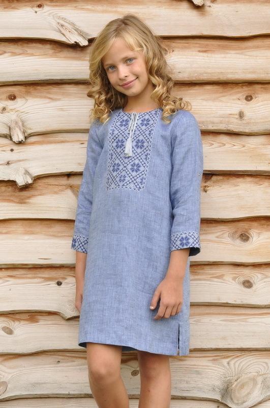 Вишиванка для хлопчика та сукня для дівчинки від ТМ  Vyshyvanka by ... 2433ab83a38e9